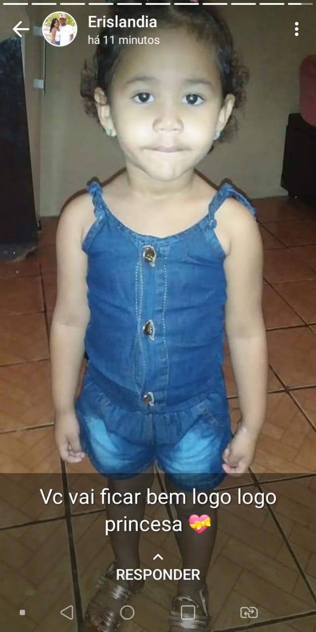 Pais pedem ajuda para custear tratamento de Elen Tauany de apenas 4 anos de idade 2