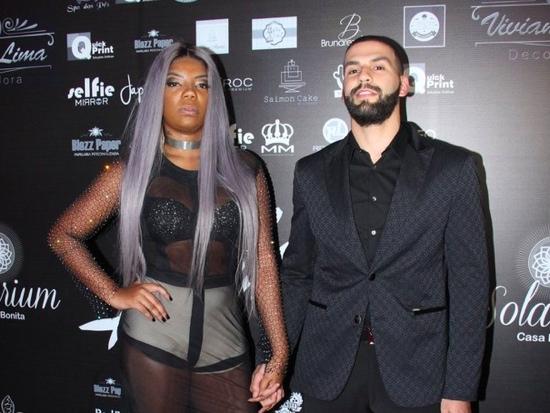 Ludmilla e o produtor americano Xerxes / (Foto: Reprodução PurePeople)