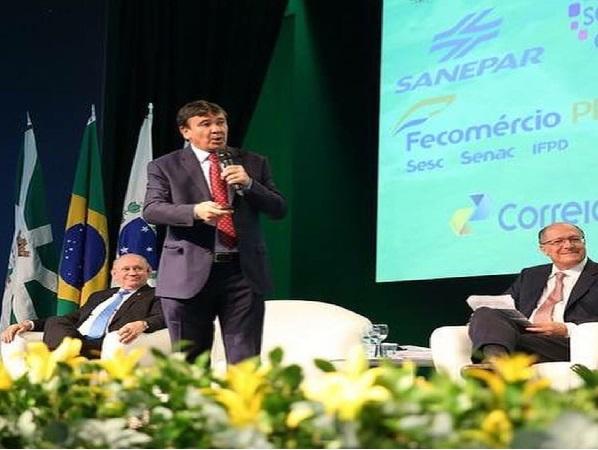 Wellington Dias apresenta propostas para restabelecimento da economia brasileira em conferência