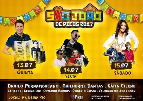 São João de Picos terá inauguração de obras e shows musicais