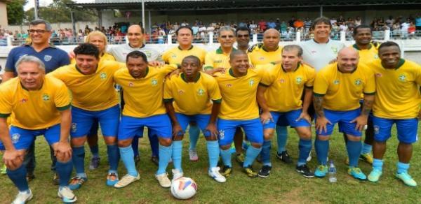 Estrelas do futebol brasileiro participam de amistoso em Oeiras no final de junho