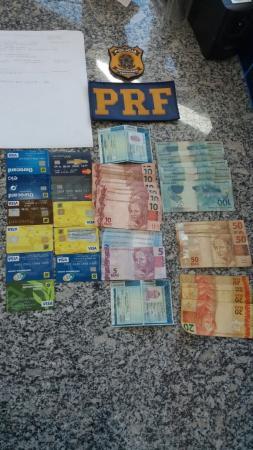 PRF prende estelionatários de cartões de crédito, contas-correntes e benefícios sociais
