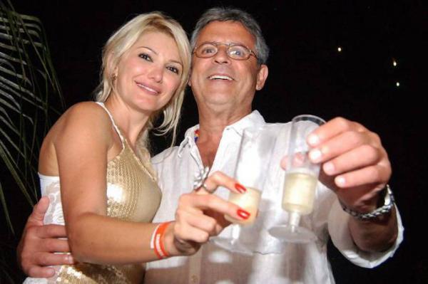 Antonia Fontenelle e Marcos Paulo. (Foto: Marcelo Loureiro/VEJA)