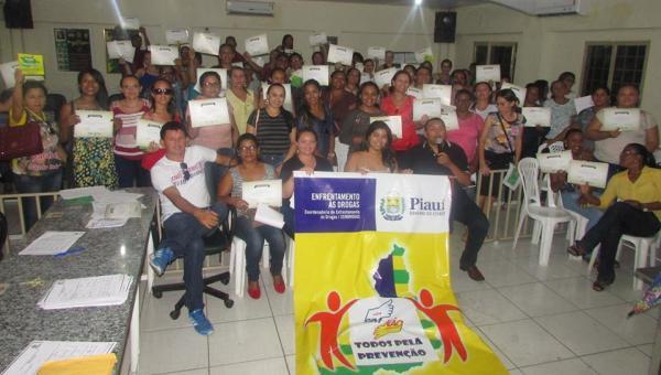 Cendrogas realiza curso de prevenção às drogas em Santo Inácio do Piauí
