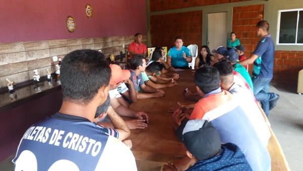 Reunião define equipes  que irão participar do campeonato municipal 2018