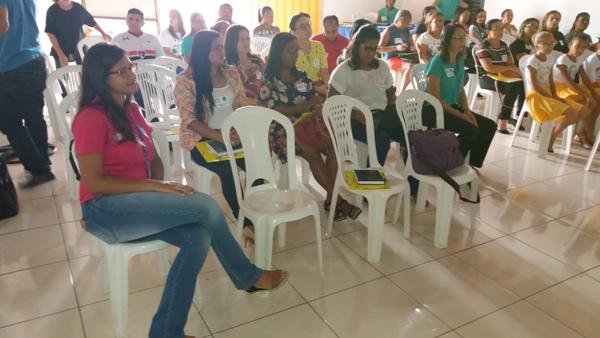 Gestores de escolas municipais participam de  formação em Santo Inácio