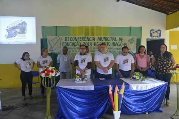 Município realiza IIIª conferência municipal de educação