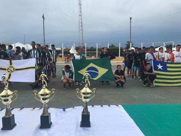 Campeonato de futsal é realizado durante programação de aniversário da cidade