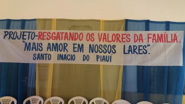 Projeto Resgatando os Valores da Família é lançado em Santo Inácio