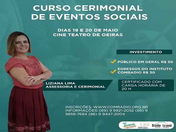 Comradio do Brasil está com inscrições abertas para o curso de cerimonial de eventos sociais