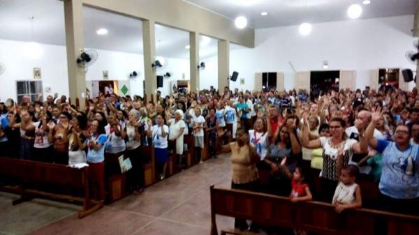 Segunda noite de Novena e Missa do Festejo de São Francisco de Assis