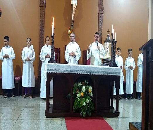 Quarta noite de Novena é celebrada em Campinas do Piauí
