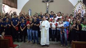 Festejo de São Francisco de Assis: Oitava noite de Novena/Missa