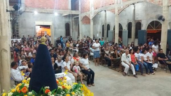 Comunidade do Morro da AABB celebra 24ª festa de Nossa Senhora Aparecida