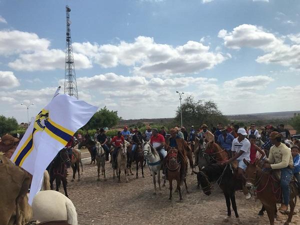 Paróquia realiza 7ª Romaria dos vaqueiros em Santo Inácio