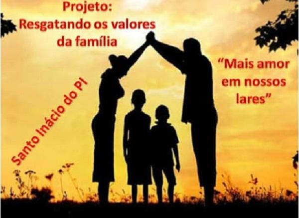 Projeto, Resgatando os Valores da Família