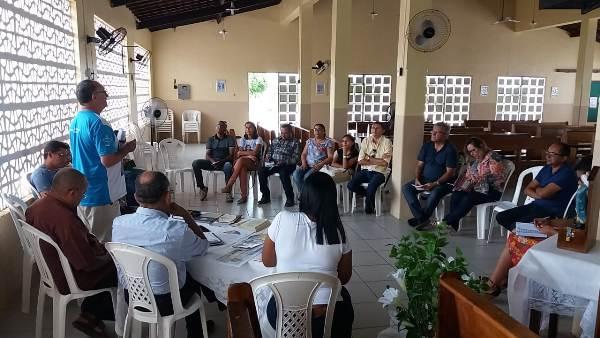 Equipe diocesana da pastoral familiar se reuniu em Santo Inácio