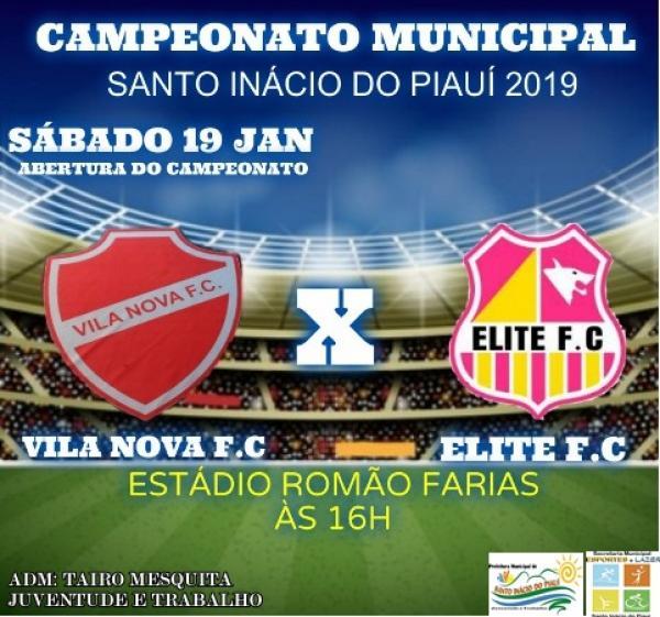 Uniformes para o campeonato municipal 2019 são apresentados durante evento