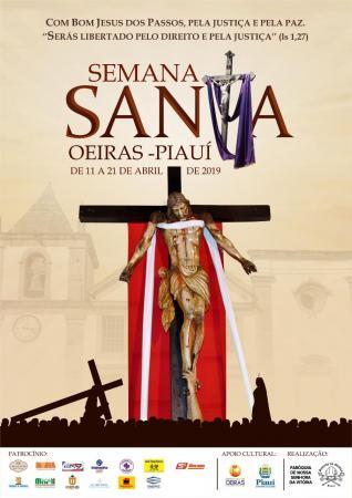 Paróquia Nossa Senhora da Vitória  divulga  a programação da Semana Santa