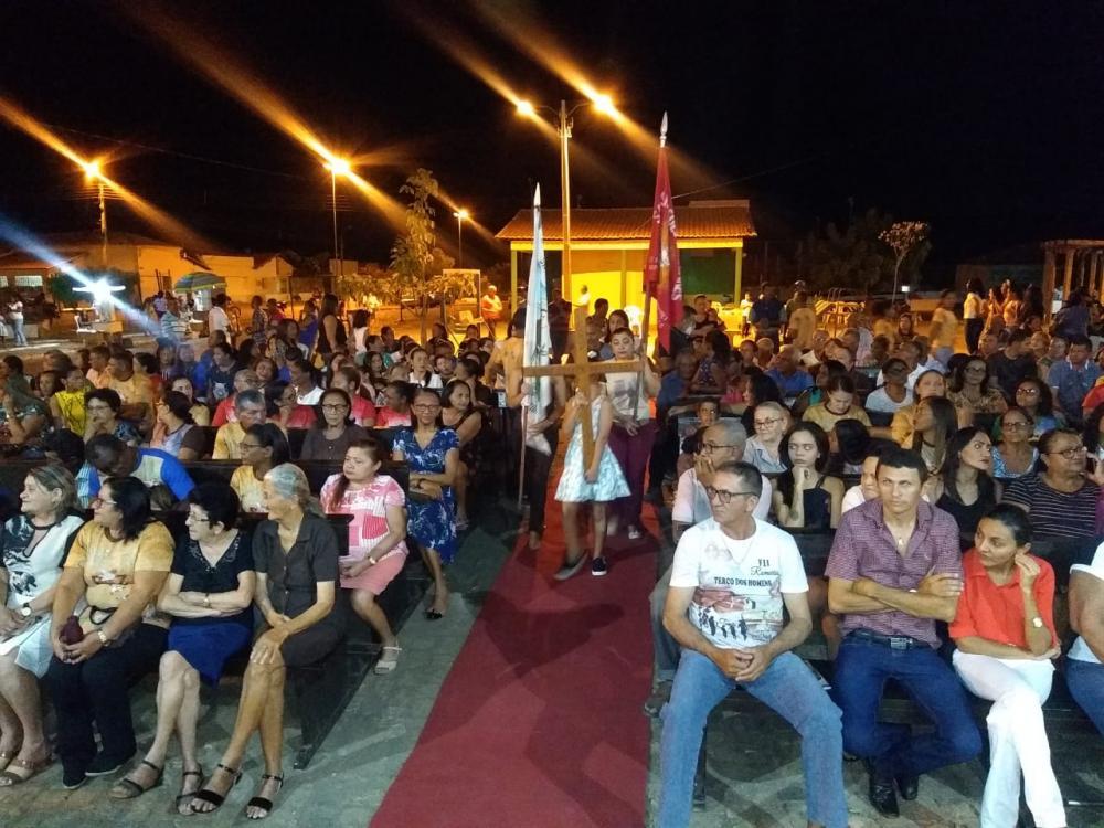 Abertura dos festejos de São Francisco em CampinasPI