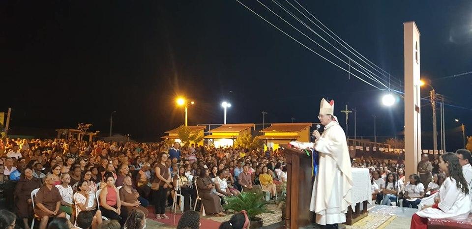 Encerramento dos festejos de São Francisco em Campinas-PI