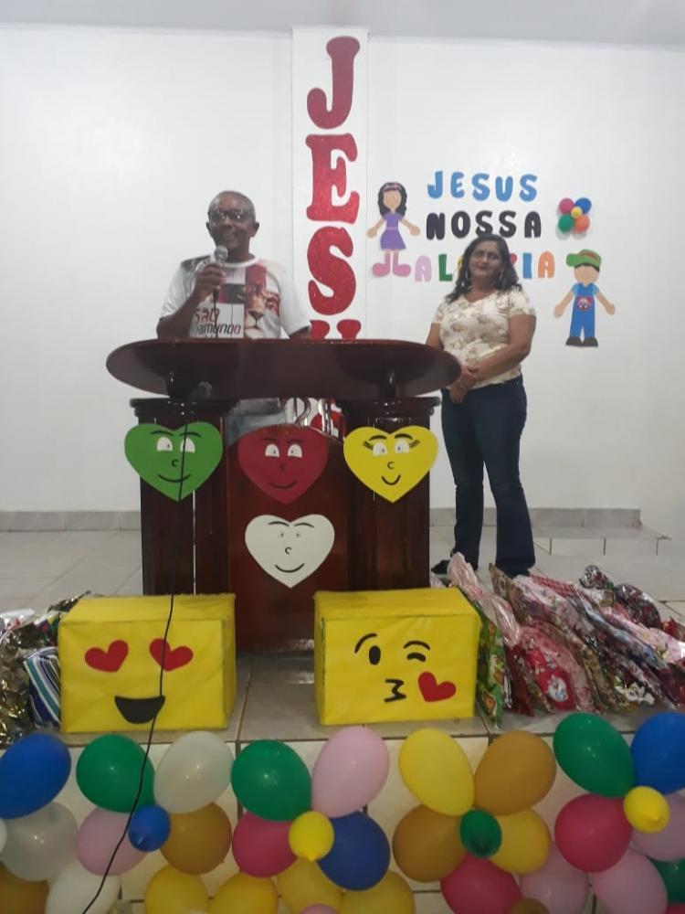 Pastor Edivan Barros da primeira Igreja Batista em Santo Inácio